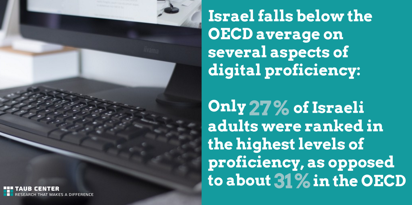 computer literacy in Israel
